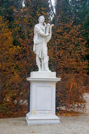 Statue in park around Shonbrunn Palace Vienna Austria 03 november 2018 Sajtókép