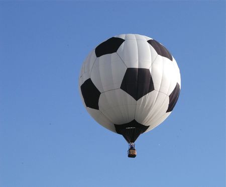 Balloon Challenge Stock Photo