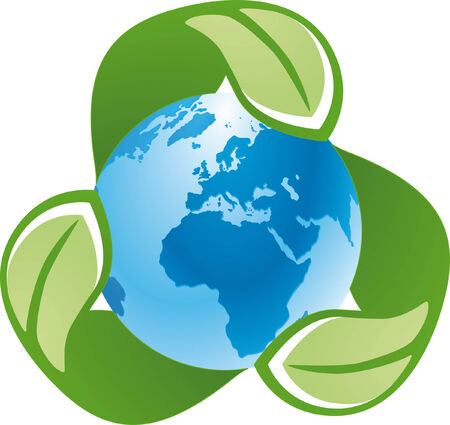 recycle global Stock Vector - 5652952