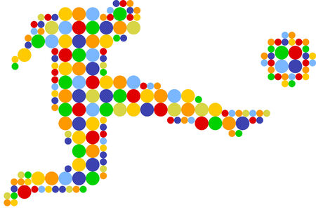 champ: football player, o join the dots
