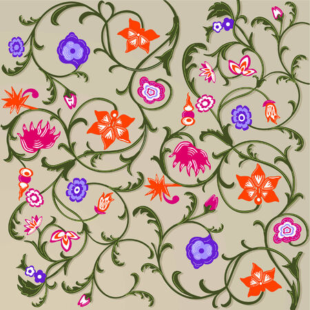 floral pattern Stock Vector - 6303082