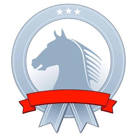 signet: emblem with horse
