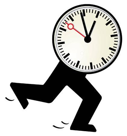 Time is short  Illustration