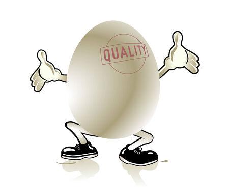 eggshells: huevo de calidad