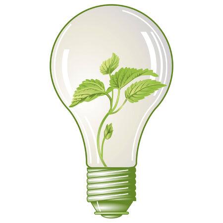 green electricity  Ilustração