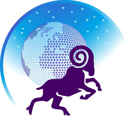 scorpion:  zodiac sign Aries