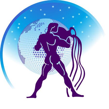 aquarius: zodiac sign Aquarius