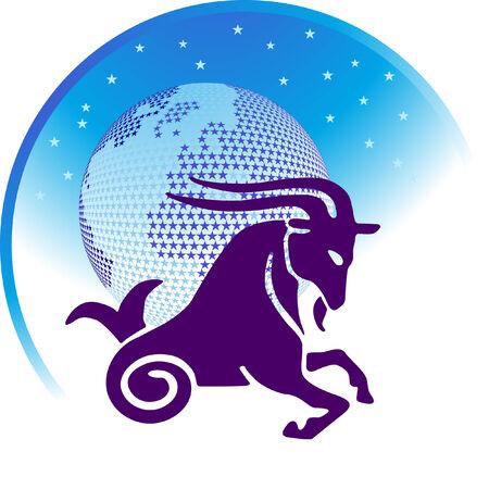 capricorn: zodiac sign Capricorn