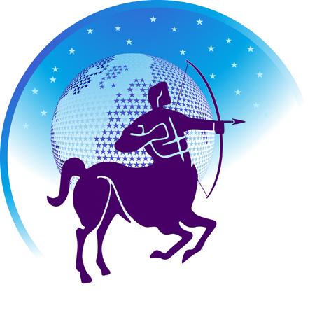 sagittarius: zodiac sign Sagittarius