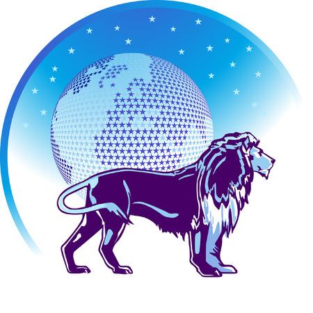 sagittarius:  segno zodiacale Leo  Vettoriali