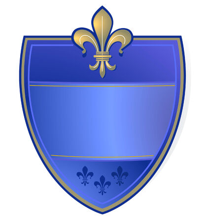 French coat of arms  Vector