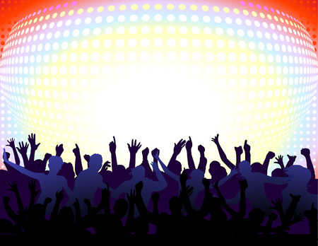 to have an all-night party  Stock Vector - 6480768