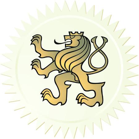 signet: Escudo de armas de Le�n