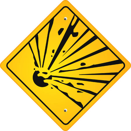 attention explosion Stock Vector - 6513481