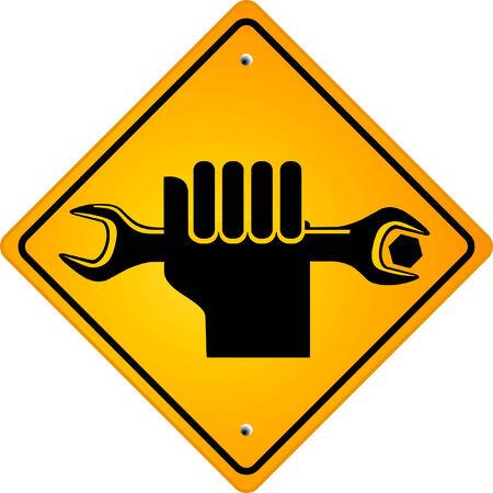 maintenance and repair Ilustracja