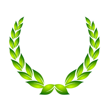 laurel leaf:  laurel wreath