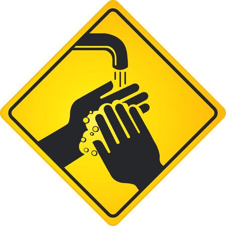 wash hands  Stock Vector - 6513575