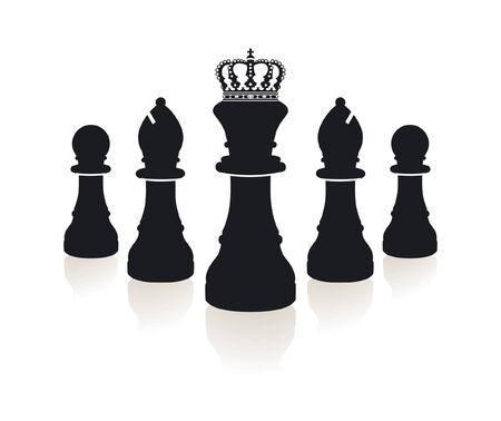 vaincu:  chess piece