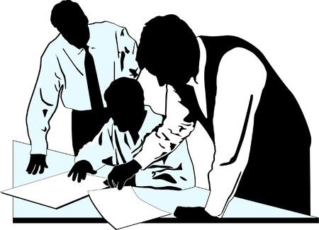 agency  Ilustracja