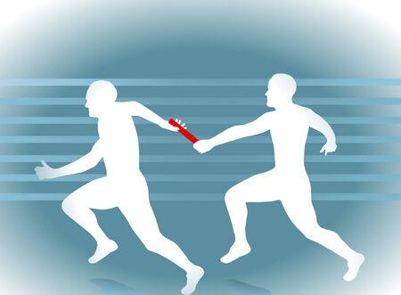 relay running  Vector