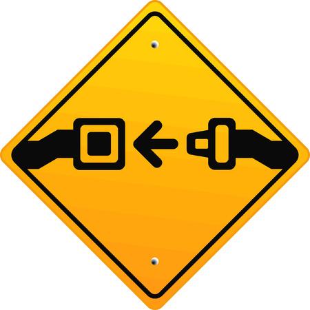 sauvegarde: Fixez votre ceinture de s�curit� !  Illustration