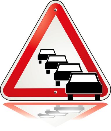 traffic jam Stock Vector - 6513661