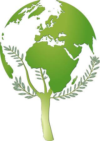 world nature protection  Illusztráció