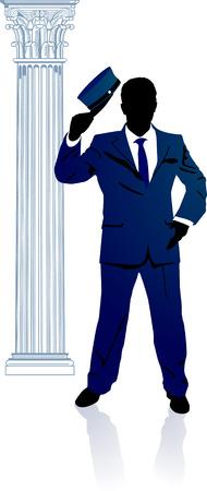 salutation: doorkeeper  Illustration
