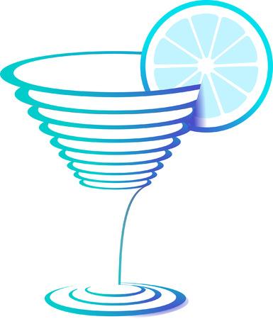 aperitif: cocktail glass