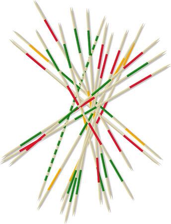 steady: mikado pick-up sticks