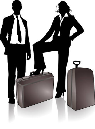 pair to travel  Vector