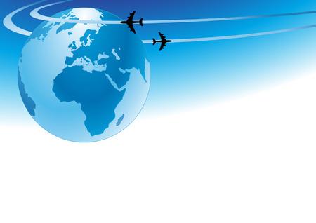 air travel: Air travel-