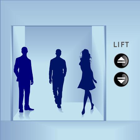 downward: lift Illustration
