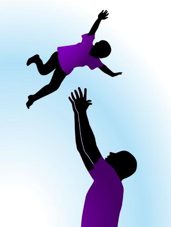 piggyback:  Fun with children