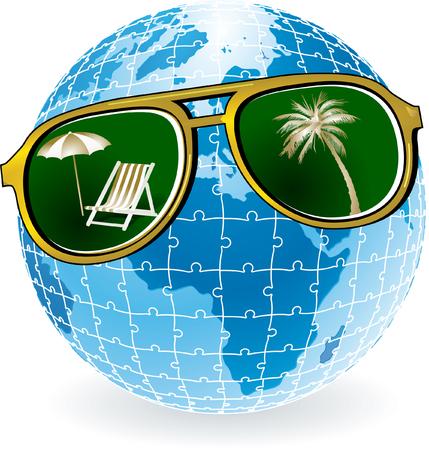 luggage pieces: sunglasses world