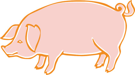 pig Stock Vector - 6594073