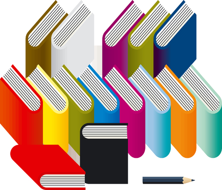book Stock Vector - 6594078