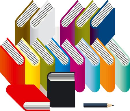 book Stock Vector - 6594078