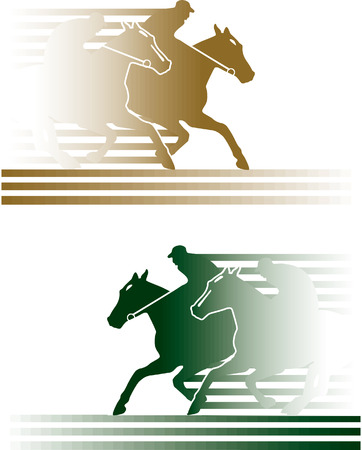 paarden rennen