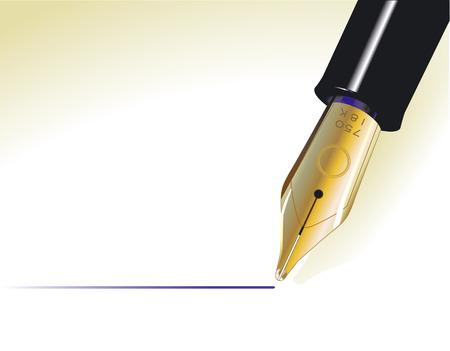 fillers: pen  Illustration