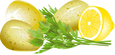 chive: parsley potatoes