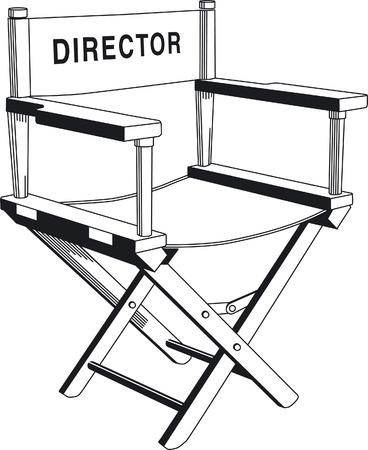 sedia di direzione  Vettoriali