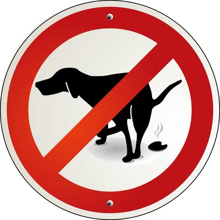 excrement: escrementi di cane al bando