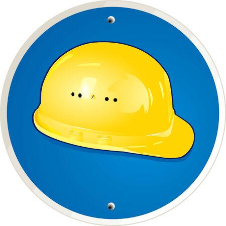 handyman's helmet Stock Vector - 6630140