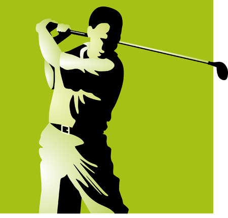 golf, green Vector