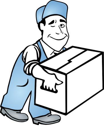 verhuis dozen: verplaatsen