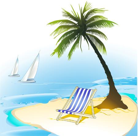 meer:  island  Illustration