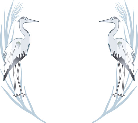 egret Stock Vector - 6630044
