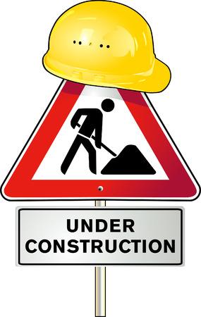 road works:  road works