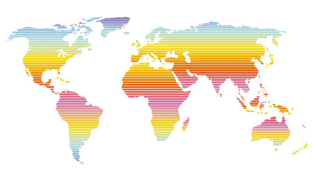 world, color Stock Vector - 6630171
